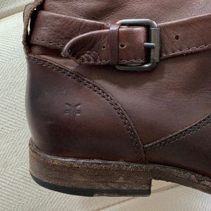 Frye Shoes - Frye Phillip Leather Riding Boots Size 7